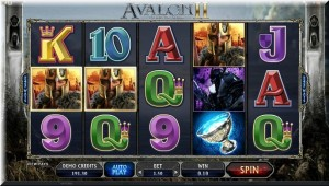 Avalon II gameplay frame
