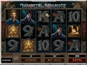 Immortal Romance gameplay frame
