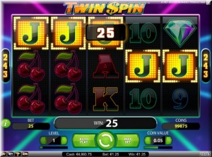 twin spin frame