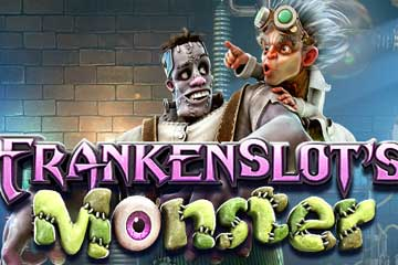 frankenslots monster slot logo