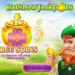 rainbow jackpots slot logo