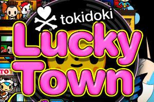 tokidoki-lucky-town-slot-logo
